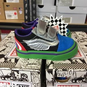 a75fcb3b68c Vans Shoes - Vans Old Skool V Marvel Avengers Multi Toddler